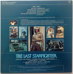 The Last Starfighter Original Motion Picture by ThisVinylLife
