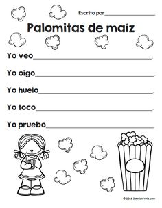 Poemas/poesía para niños en K, 1, 2 y 3 en español. 35+ pages of Poem unit in Spanish.