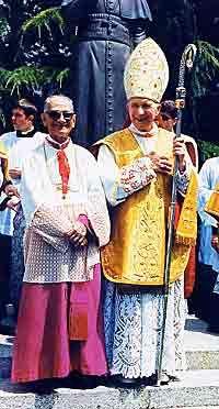 Archbishop Lefebvre And Bishop de Castro Mayer