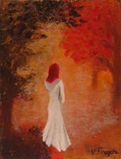 """Saatchi Art Artist Vasi Finegari; Painting, """"the mist"""" #art"""