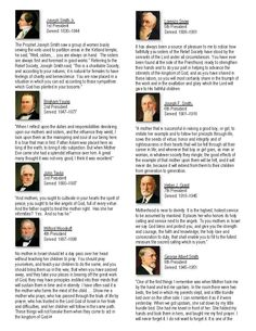 I have a printable for you to enjoy of quotes from our LDS prophets on Wives, Women and Mothers on my blog at: http://visitingteachingtips.blogspot.com/2013/05/happy-mothers-day-book-of-quotes-from.html