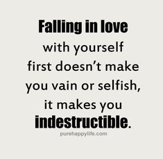 Self-love - something I've learned about along the way that isn't in the curriculum.