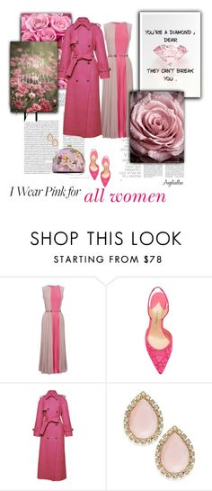 """""""You're a diamond"""" by angelicallxx ❤ liked on Polyvore featuring Prada, LUISA BECCARIA, Paul Andrew, Stella Jean, Kate Spade and IWearPinkFor"""