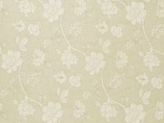 MUSTIQUE - Fawn A Jacobean floral design. Detailed with precision hand cutting, appliqued on a light linen piece dyed ground. Meticulous stitchery gives dimension to the floral motifs. Beautiful hand and drape. For window and bedding applications.  Zimmer + Rohde