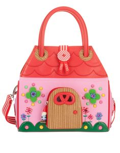 Adorable fairy village house bag