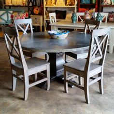 BarrioAntiguo Houston Texas (713) 880 2105. Farmhouse Dining TablesDinette  ...