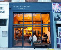 cool coffee shops exterior - Google Search