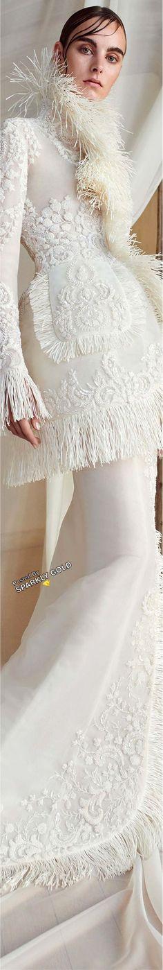 Ashi Studio Fall 2018 Couture #AshiStudio Fashion 2018, Love Fashion, Women's Dresses, Ashi Studio, White Elegance, Winter Bride, Fall 2018, Wedding Gowns, Ivory