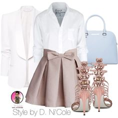 Untitled #2419 by stylebydnicole on Polyvore featuring polyvore fashion style Frank & Eileen MANGO Chicwish MICHAEL Michael Kors