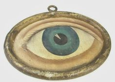 Antique Folk Art Eye Trade Sign for Optometrist, circa 1860 Antique Signs, Vintage Signs, Advertising Signs, Vintage Advertisements, Sistema Visual, Lovers Eyes, Art Populaire, Old Signs, Shop Signs