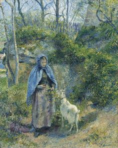 Shepherdess and the Goat, 1881 | by vvaassya2014