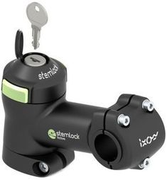 Stemlock Bicycle Lock - new take on bike security Mtb Bike, Cycling Bikes, Road Bike, Road Cycling, Bici Fixed, Fixed Bike, Fixed Gear, Mountain Bike Accessories, Cool Bike Accessories