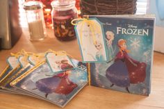 Our Inexpensive Frozen Themed Mini Birthday Party - EAT. CRAFT. PARENT.