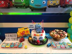 Tayo the little bus theme party