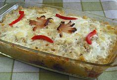 Krumplis-túrós rakott nokedli Hungarian Recipes, Hungarian Food, Looks Yummy, Pudding, Cheese, Healthy, Hungarian Cuisine, Custard Pudding, Puddings