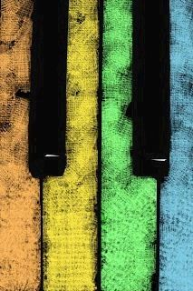 Resultado de imagen para TECLAS DE PIANO DE COLORS