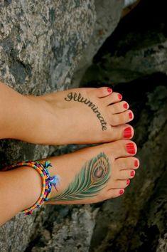 #Fuß Tattoo #tattoo   Fuß-Tattoo-Ideen für Mädchen