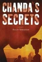 """Required reading: Chanda's Secrets by Allan Stratton  """"The message about overcoming ignorance and shame and confronting the facts is ever-present, but the tense story and the realistic characters . . . will keep kids reading and break the silence about the tragedy."""" -- Booklist (starred review)  Image courtesy of Perfection Learning"""