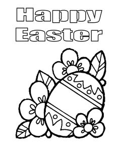 Happy Easter Coloring Pages Best For