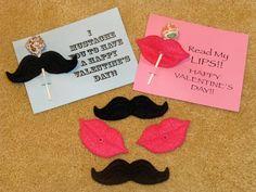 Mustache and Lips Valentines suckers!    www.facebook.com/daisygirldesigns