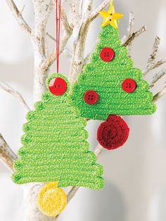 Easy to Sew Christmas tree ornament pattern