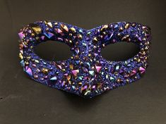 Excited to share this item from my shop: Dragon Scale Blue Petrol Crystal Incognito Venice Carnival Mask Carnival Of Venice, Carnival Masks, Masquerade Attire, Halloween Masquerade, Dragon Scale, Full Face Mask, Wicked Witch, Some Pictures, Mardi Gras