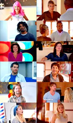 Happy Endings when they were on the real world lol. Then & now
