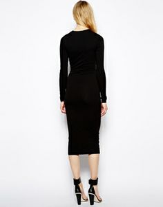 TTYA Long Sleeve Midi Dress