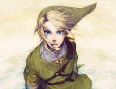 Legend of Zelda Link fanart