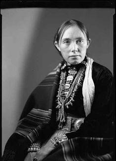 Zonie A Navajo Woman Ganado Ariz 1926 Navajos