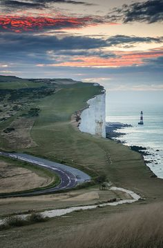 beautiful coastal road.