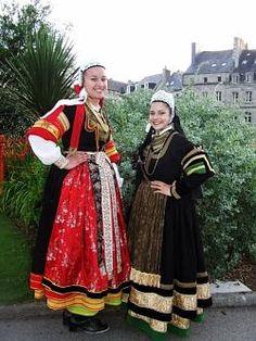 bigoudènes costumes 1900