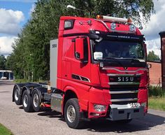 SISU Big Rig Trucks, Heavy Truck, Rigs, Cars And Motorcycles, Finland, Transportation, Volvo, Vehicles, Jeep