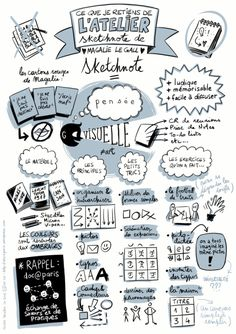 Bullet journal professionnel et sketchnote - Creabujo - Autism Education Visual Thinking, Design Thinking, Bullet Journal Professionnel, Autism Education, Art Education, Visual Note Taking, Mental Map, Note Doodles, Visual Learning