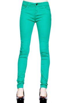 Chet Rock Green Levine Super Skinny Women's Jeans