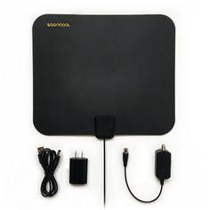 HDTV Antenna Indoor, 35-50 Mile Range with Amplifier, Antenna with Detachable Signal Booster