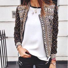 Womens Long Sleeve Basic Jacket Fashion Outerwear Casual Suit Coat Slim Blazer #N #BasicCoat