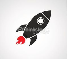 ベクトルアート : rocket ship space icon