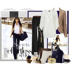 So classic!  Street Wise, created by theotherwhite.polyvore.com