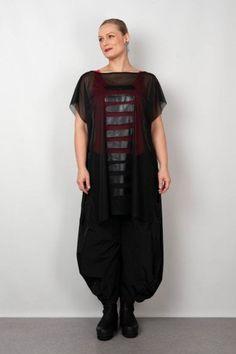 Hebbeding Black White Stripes, Black Mesh, Smock Dress, Tunic, Shirt Outfit, Shirt Dress, Brush Strokes, Stretch Fabric, Print Design