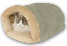 Thermo Crinkle Sack Heated Cat Bed, for the new baby!