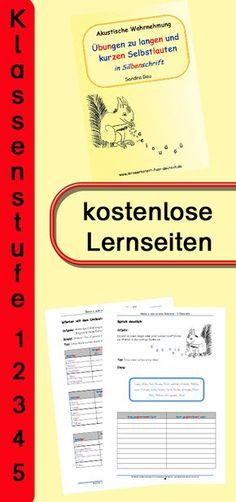 Zum Hineinschnuppern der Lerneinheit gibt es eine kostenlose Download-Version. Lange und kurze Aussprachen üben, nach Silben lesen und schreiben lernen. #Rechtschreibung #Rechtschreibregeln #Deutsch #Grundschule
