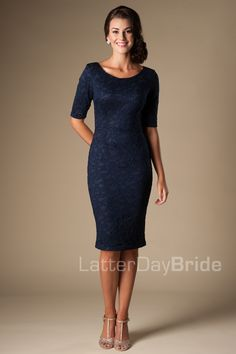 At LatterDayBride & Prom, our modest clothing keeps up with the current trends, so you can, too. Casual Bridesmaid, Modest Bridesmaid Dresses, Cute Prom Dresses, Dresses For Work, Bridesmaids, Modest Fashion, Fashion Outfits, Modest Dresses Casual, Banquet Dresses