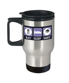 Eat Sleep Ghost Hunt Travel Mug