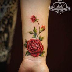 #rosetattoo #flowertattoo #flowertattoos #flowertattoodesign #rose