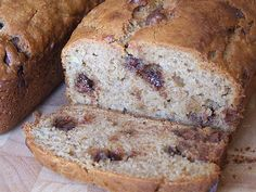 Peanut Butter- Chocolate Chip Banana Bread Recipe on Yummly