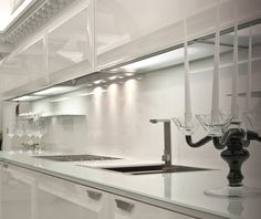 Lighting in kitchen.Scic Diamond