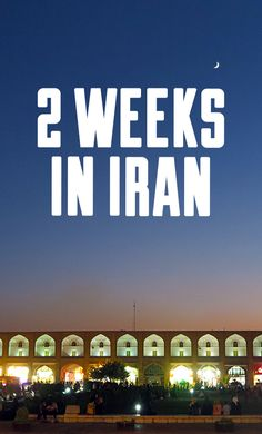 How to plan 2 weeks in Iran? Get inspired by the itinerary we had, covering the most famous cities and sights such as Esfahan, Yazd, Shiraz, Persepolis and Tehran.