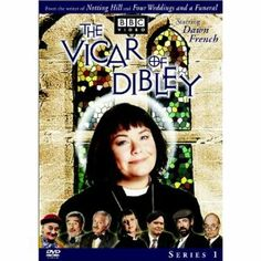"The Vicar of Dibley - Dawn French at her best! Amazon says, ""The sleepy village of Dibley has a new vicar, but it's not your standard order bloke with beard, bible and bad breath. Armed with a sharp wit, a double dose of double entendre and healthy supply of chocolate, she brings the town's lovable - though rather eccentric - inhabitants a hysterical new outlook on life, love and the Church of England that will leave audiences in stitches!"""