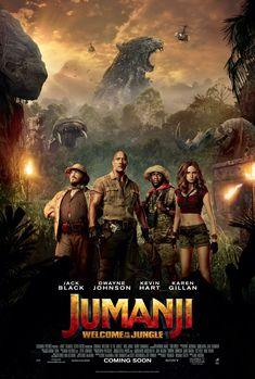 Jumanji: Welcome to the Jungle Movie Poster 4